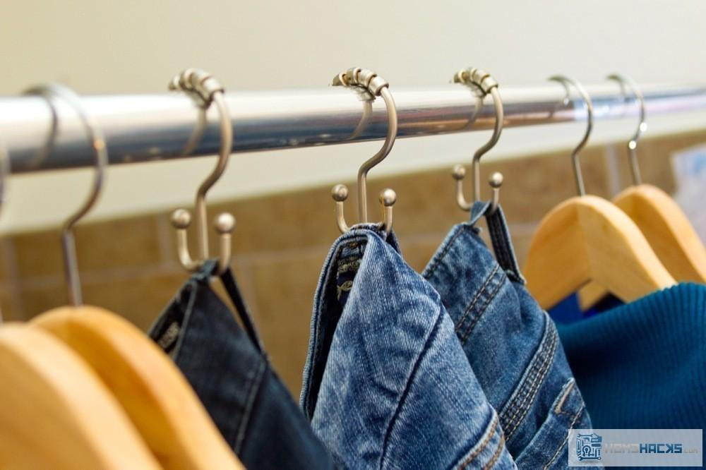 Organizing Jeans Clever Cheap Shower Curtain
