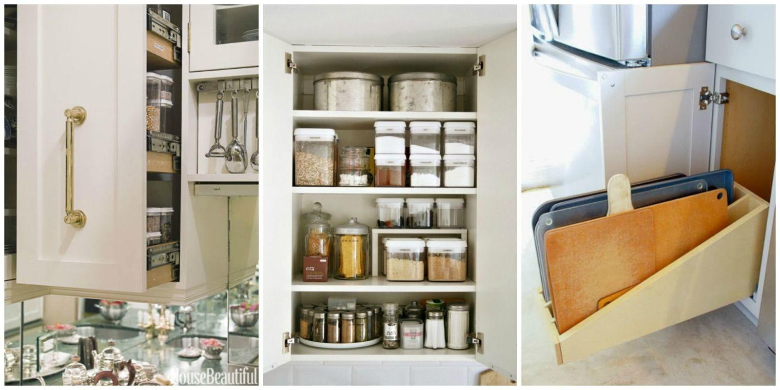 Organizing Kitchen Cabinets Storage Tips