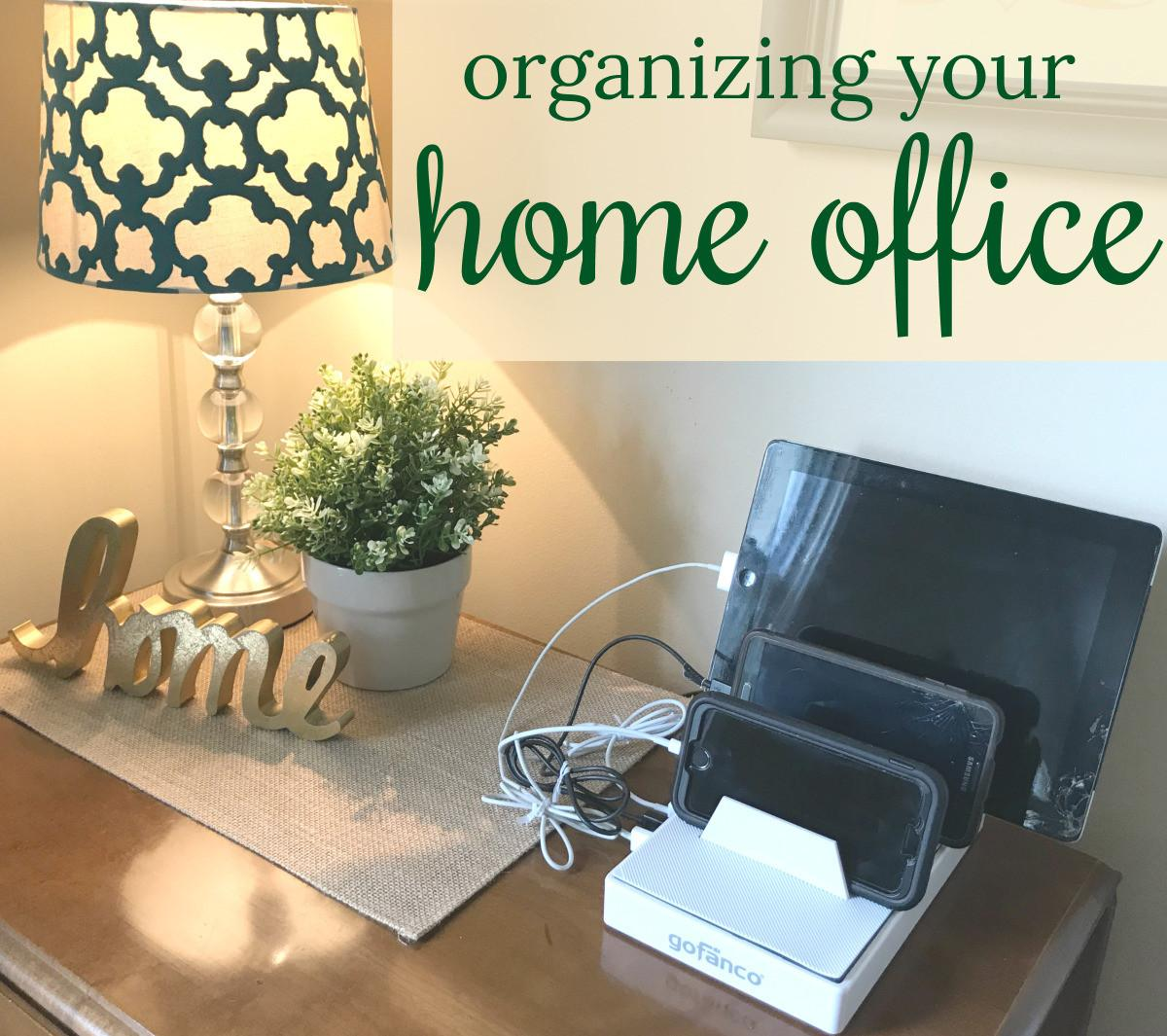 Organizing Your Home Office Come Comfort