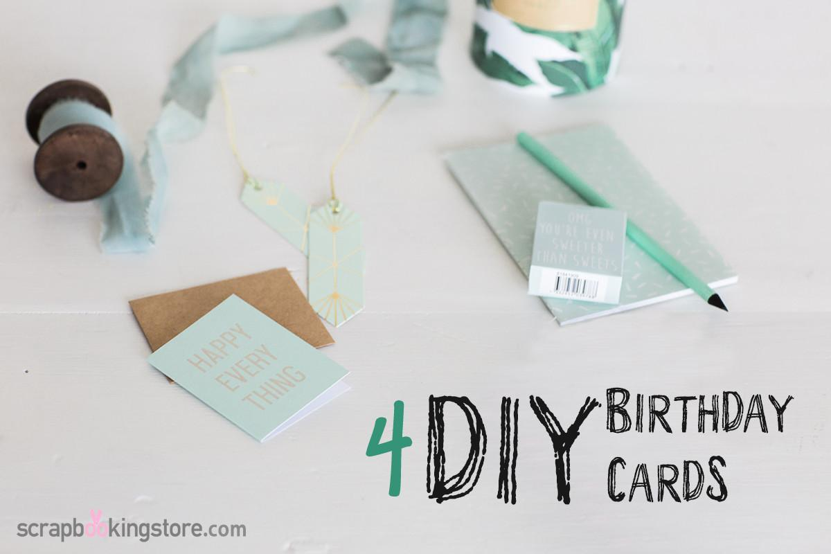 Original Diy Birthday Cards Scrapbooking Store