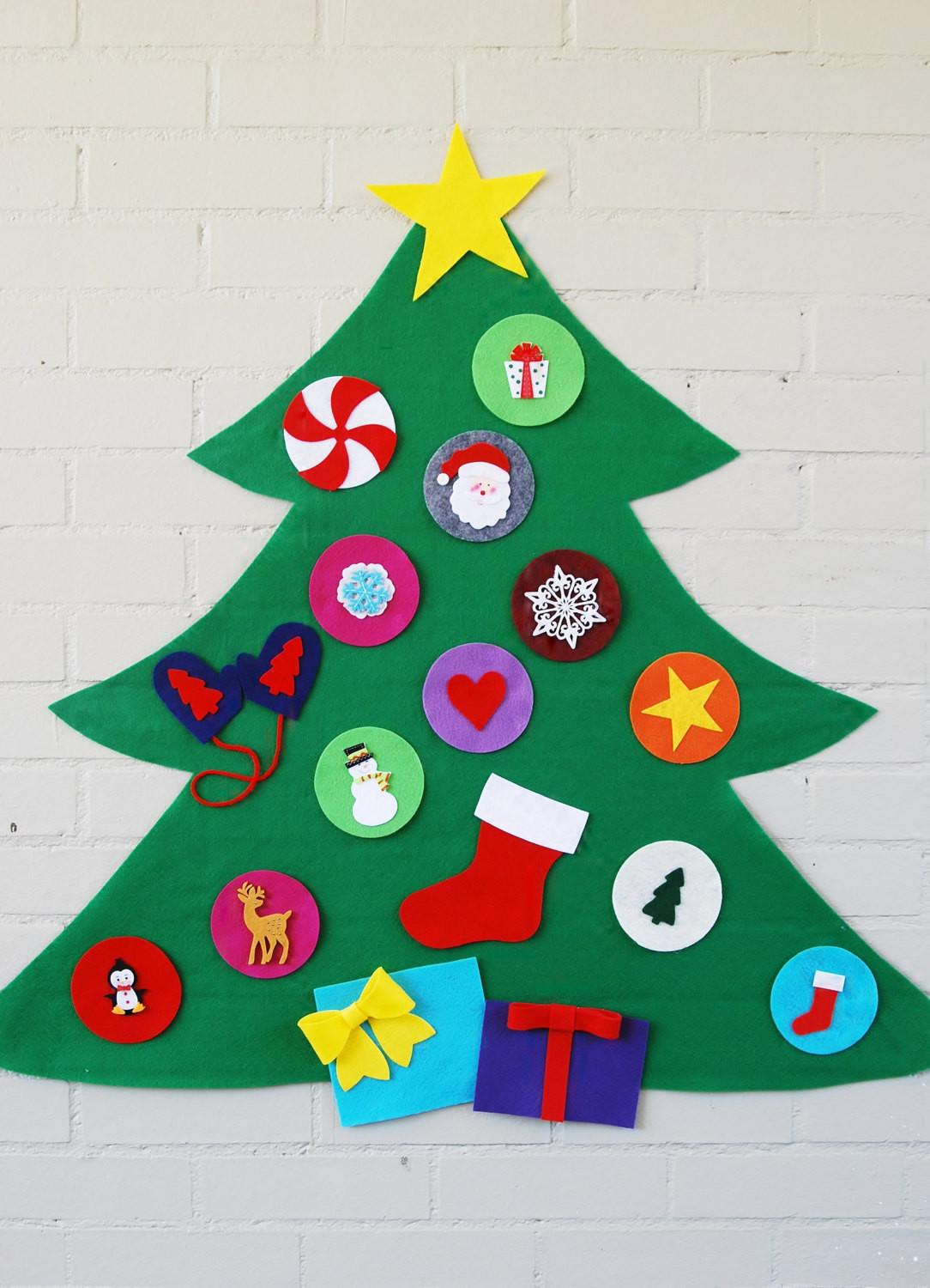 Original Felt Ornaments Your Christmas Tree Modern