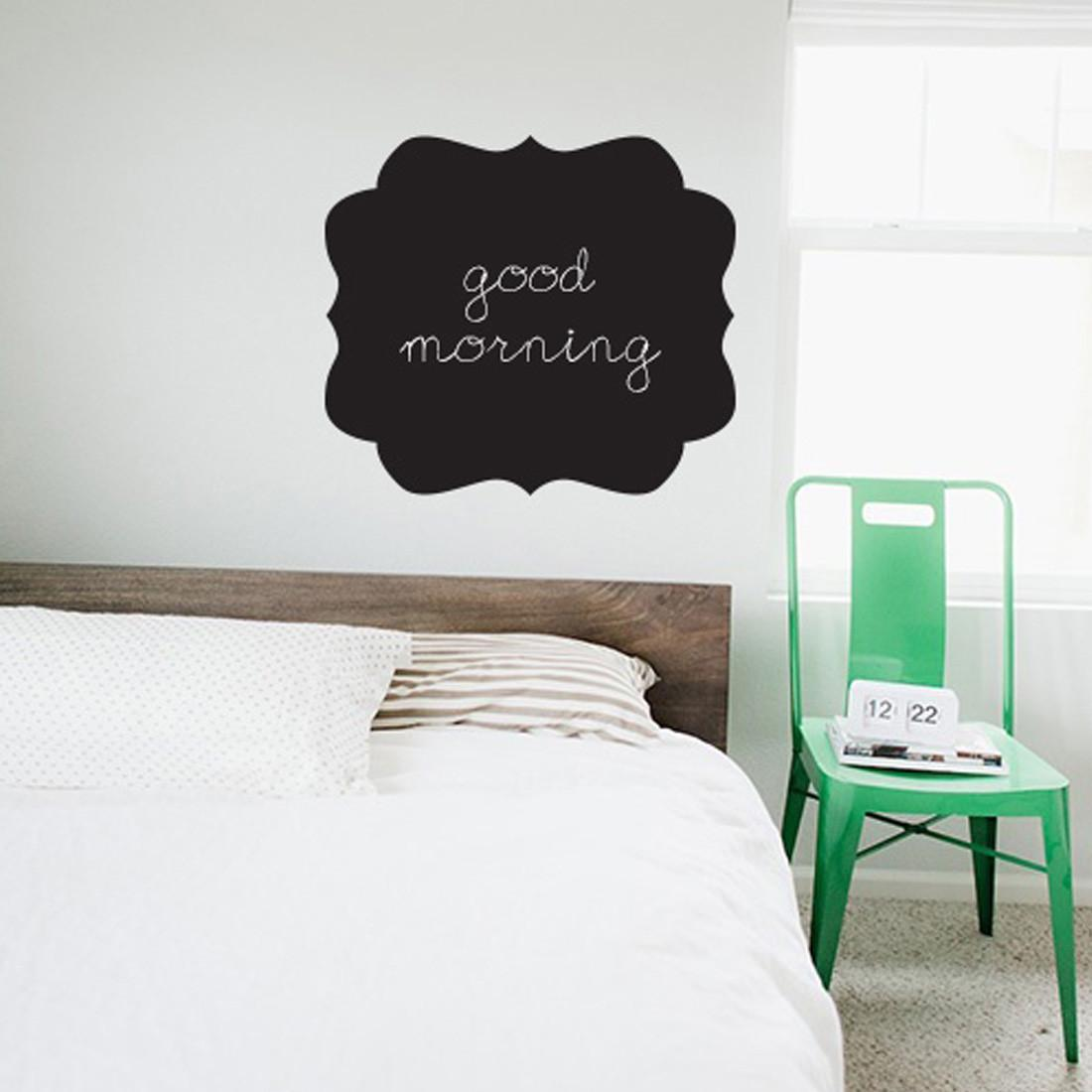 Ornate Frame Chalkboard Wall Decal Brit Shop Diy