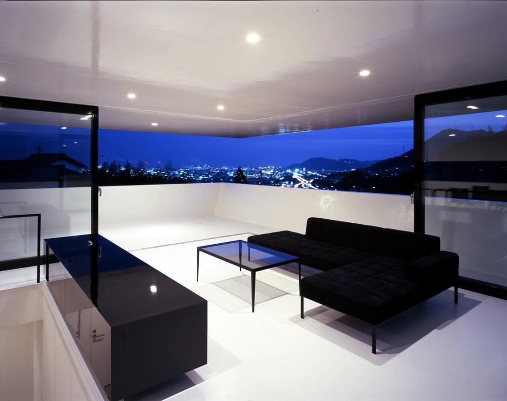Otake House Suppose Design Office Terrace Black