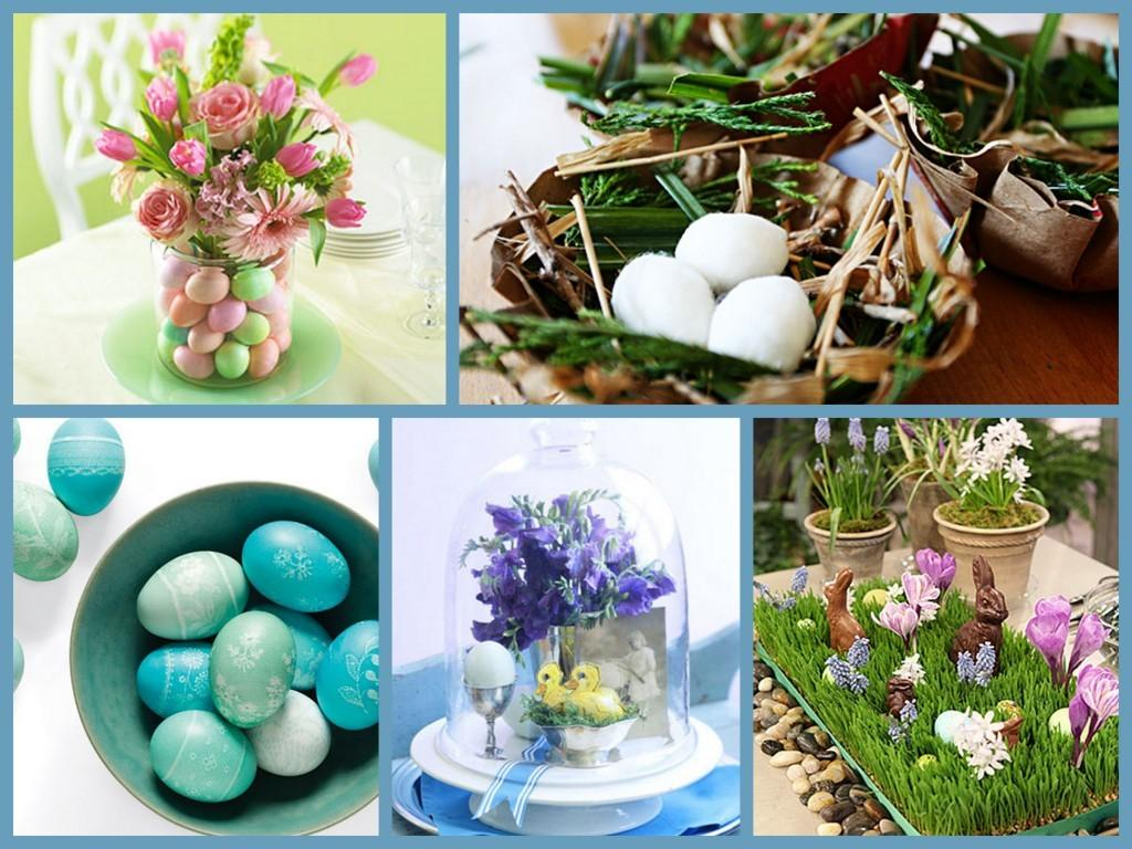 Others Cheerful Easter Dining Table Decorating Ideas