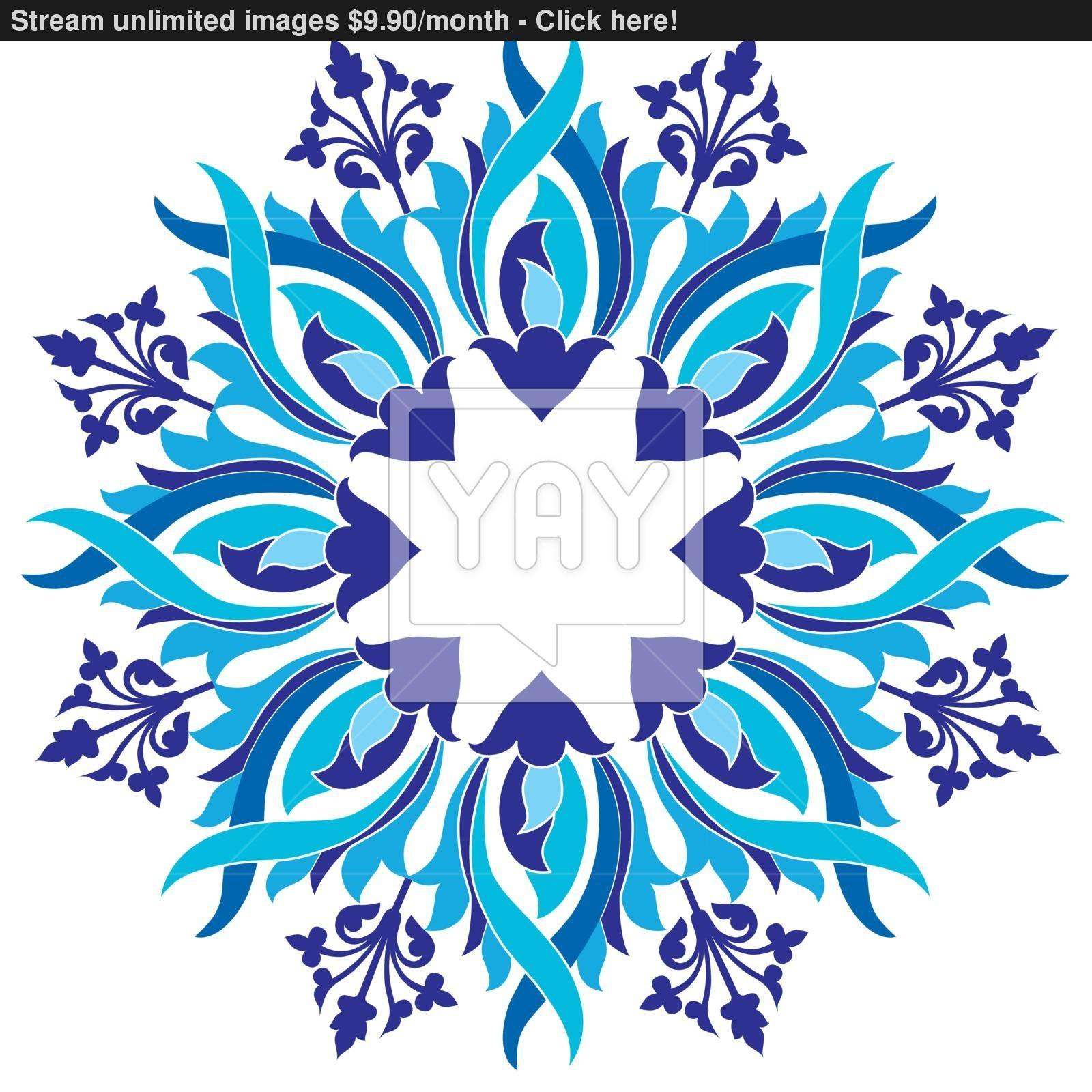 Ottoman Motifs Design Series Eight Version Vector