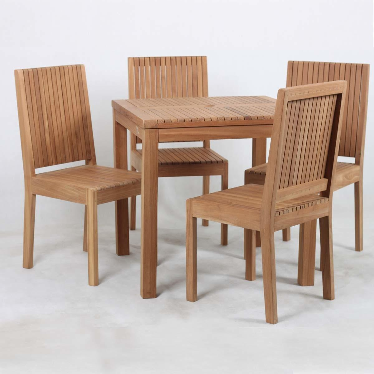 Ottoville Stylish Weather Resistant Teak Wood Outdoor