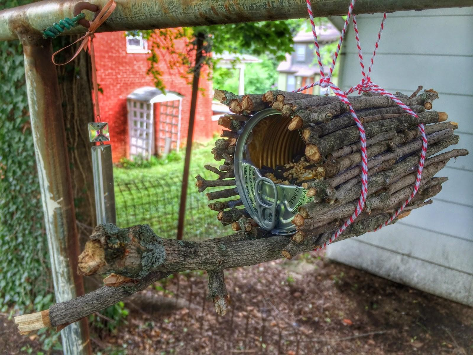 Our Beautifully Messy House Diy Tin Can Bird Feeder