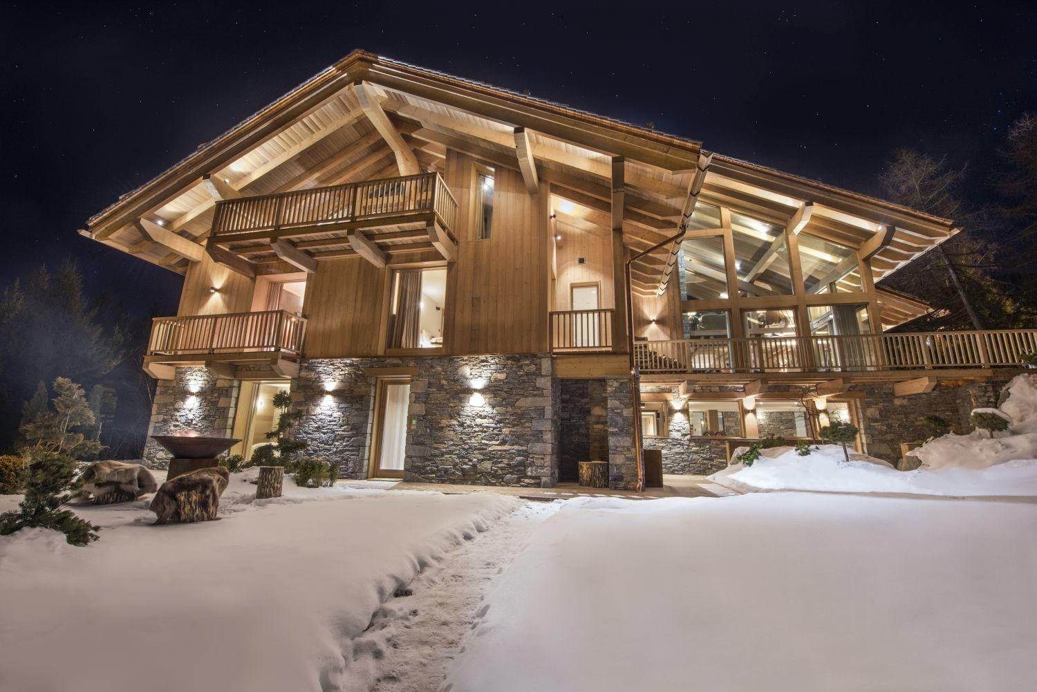 Our Best New Luxury Chalets Meribel Newest
