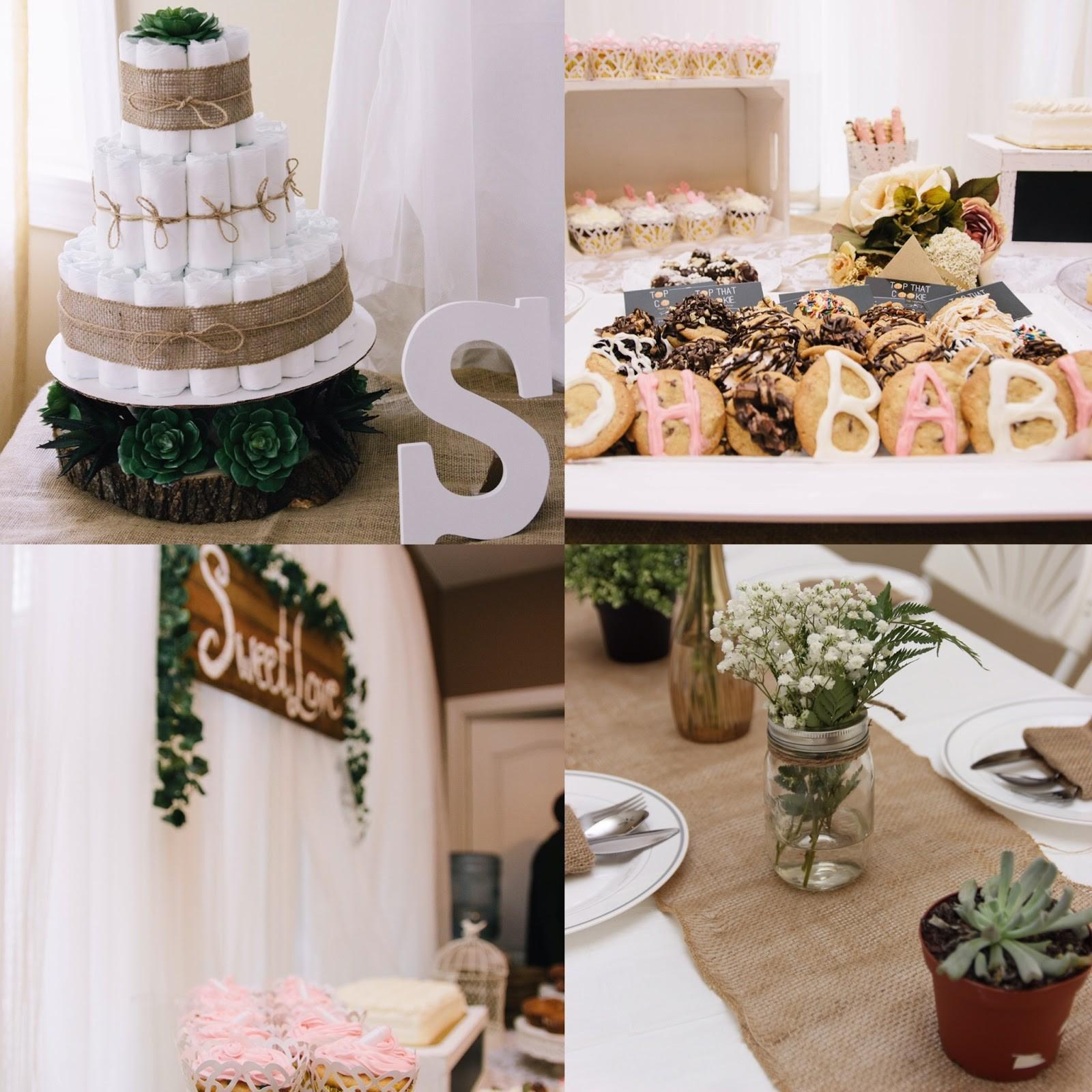 Our Boho Baby Shower