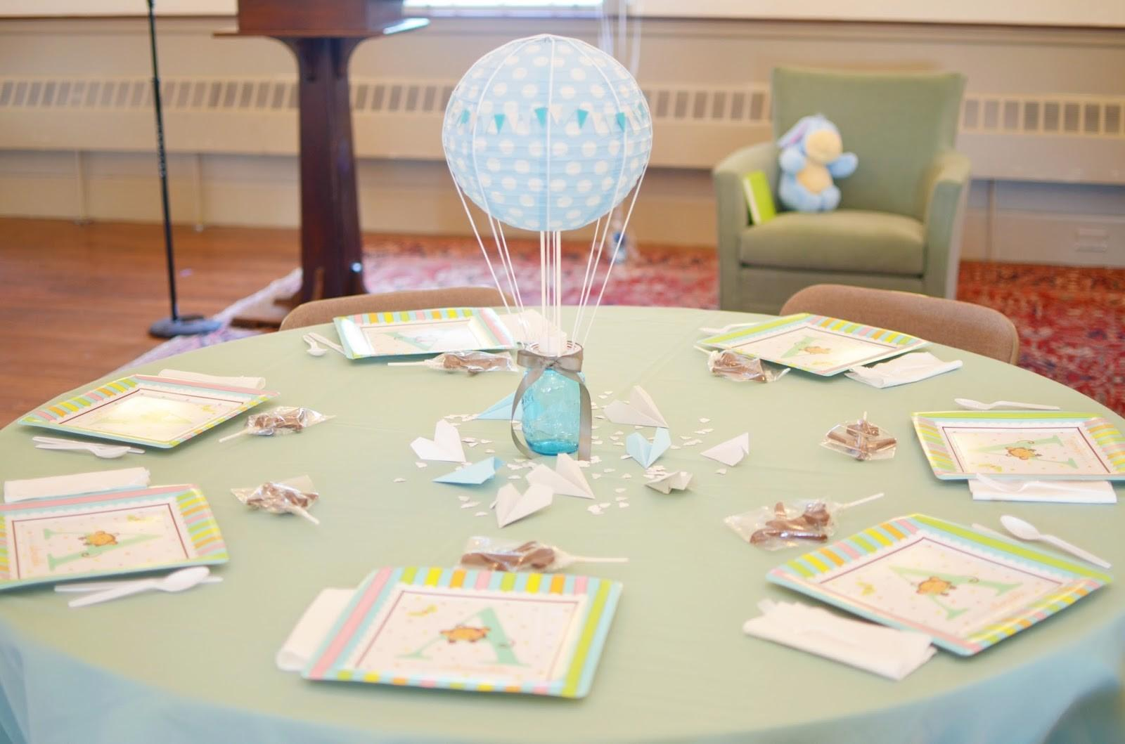 Our Change Art Air Baby Shower