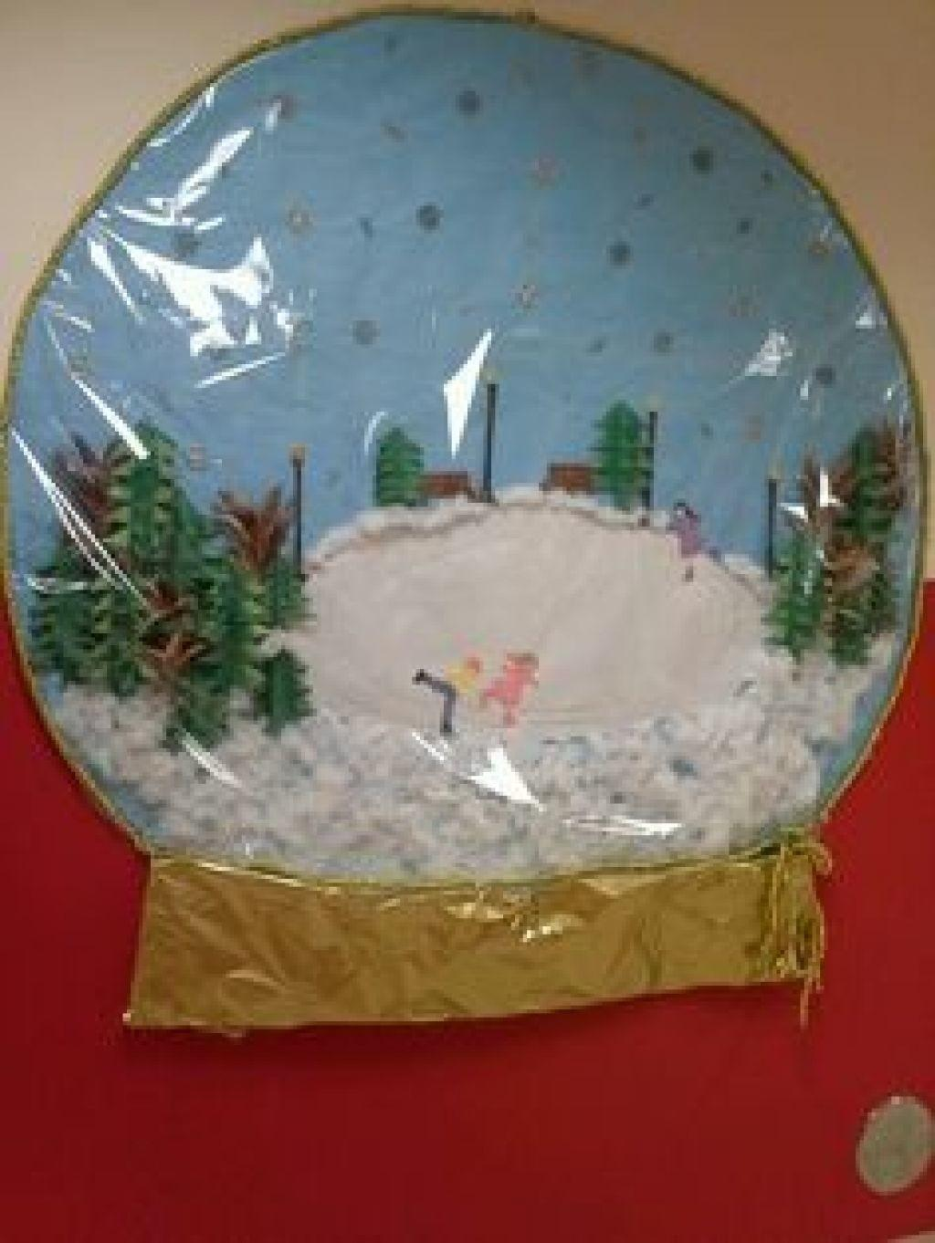 Our Classroom Paper Made Snowglobe Door Competition Winter