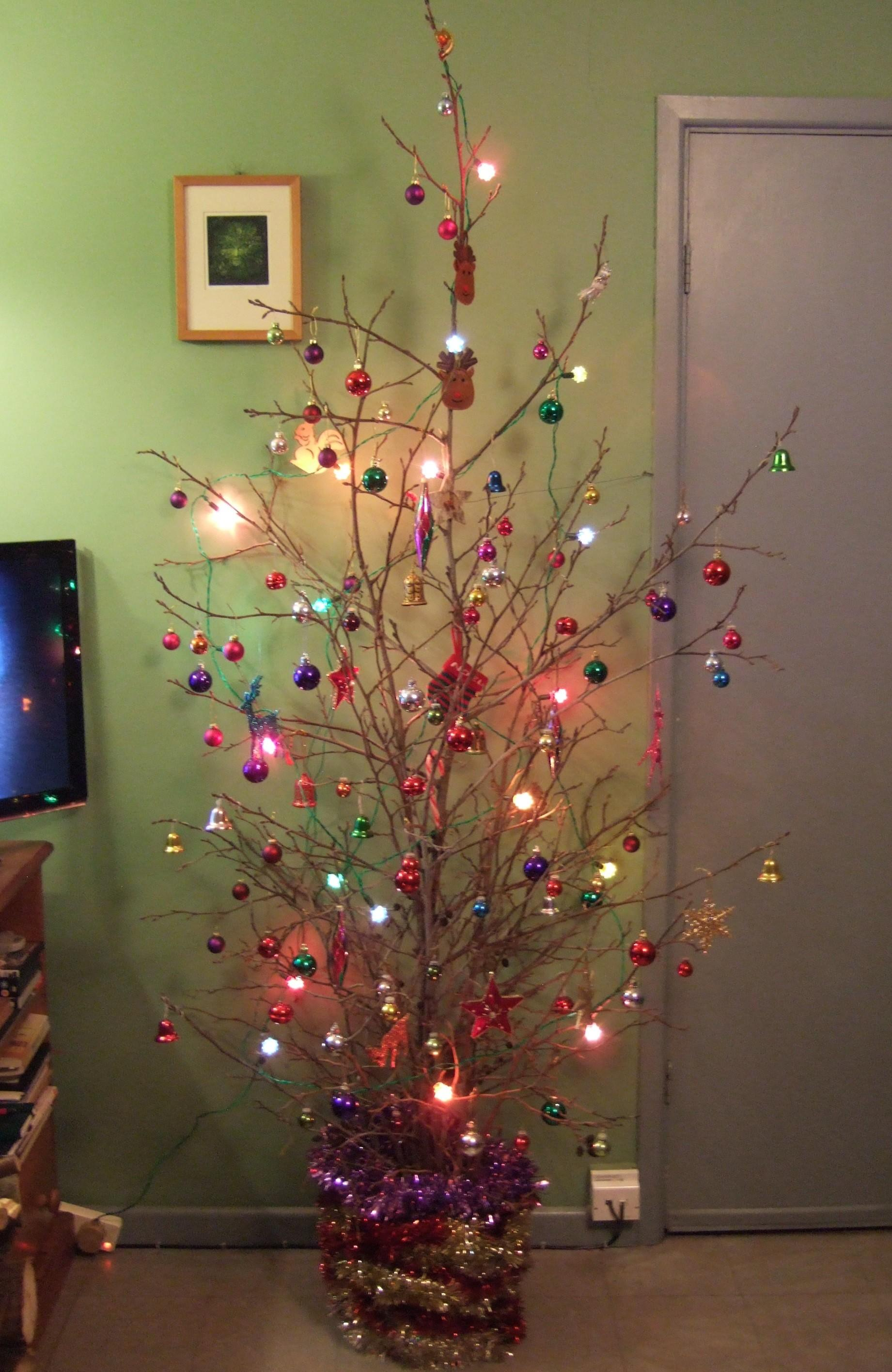 Our Diy Christmas Tree 2014 More Matters