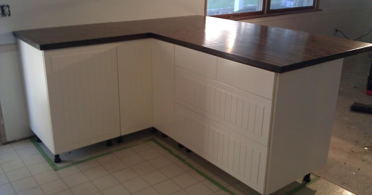 Our Diy Lakeside Retreat Budget Friendly Wood Countertops