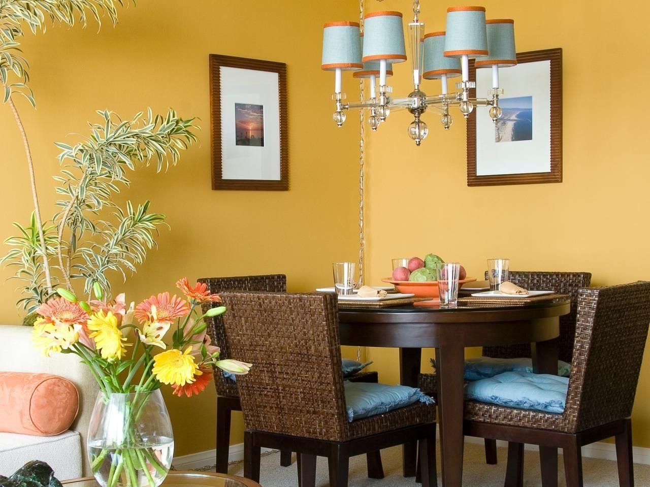 Our Fave Colorful Dining Rooms Room Color Schemes