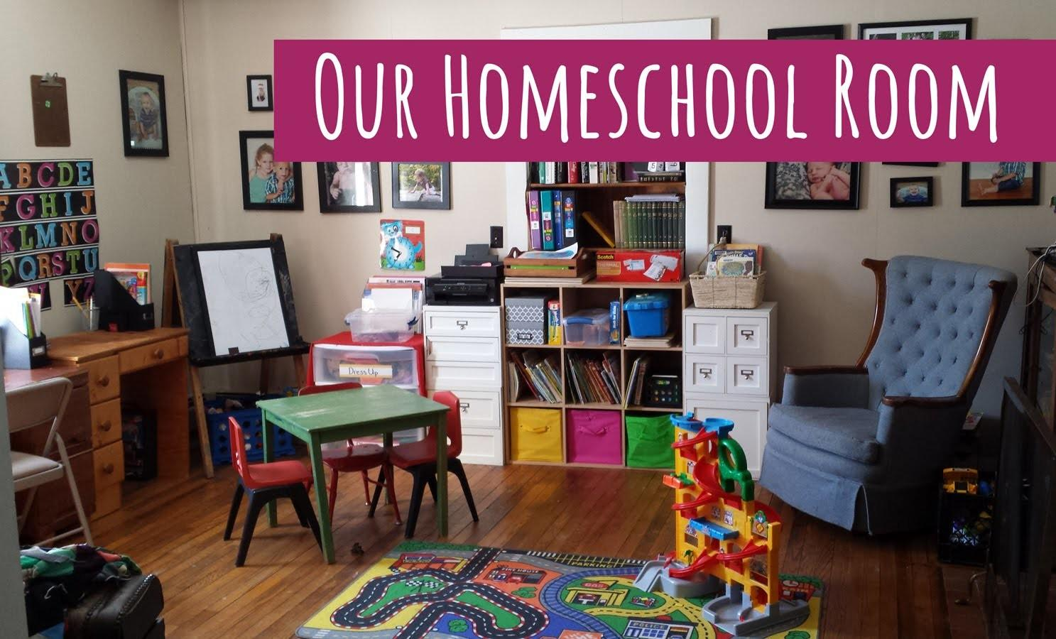 Our Homeschool Room Tour 2015 Dining