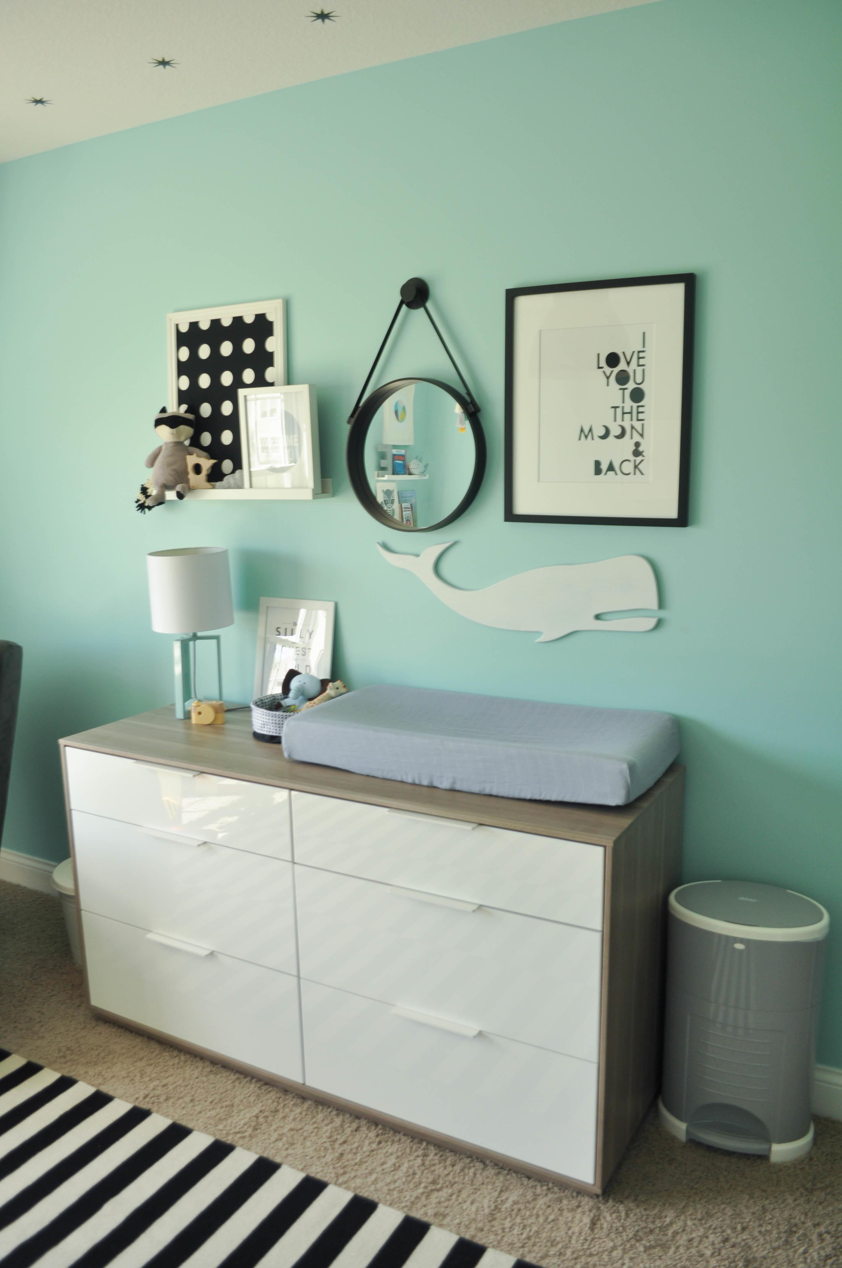 Our Industrial Modern Nursery Touch Whimsy