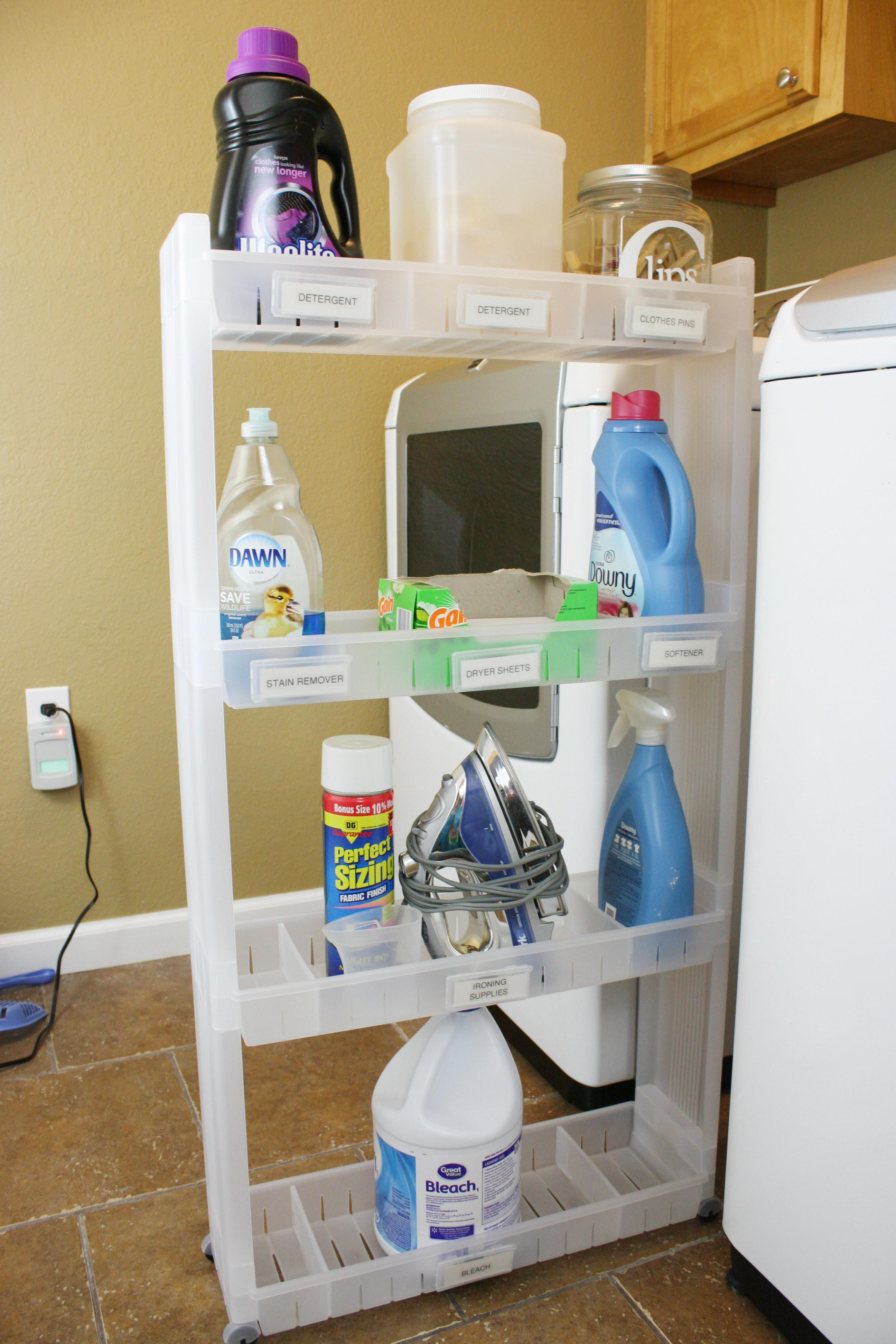 Our Laundry Room Cart