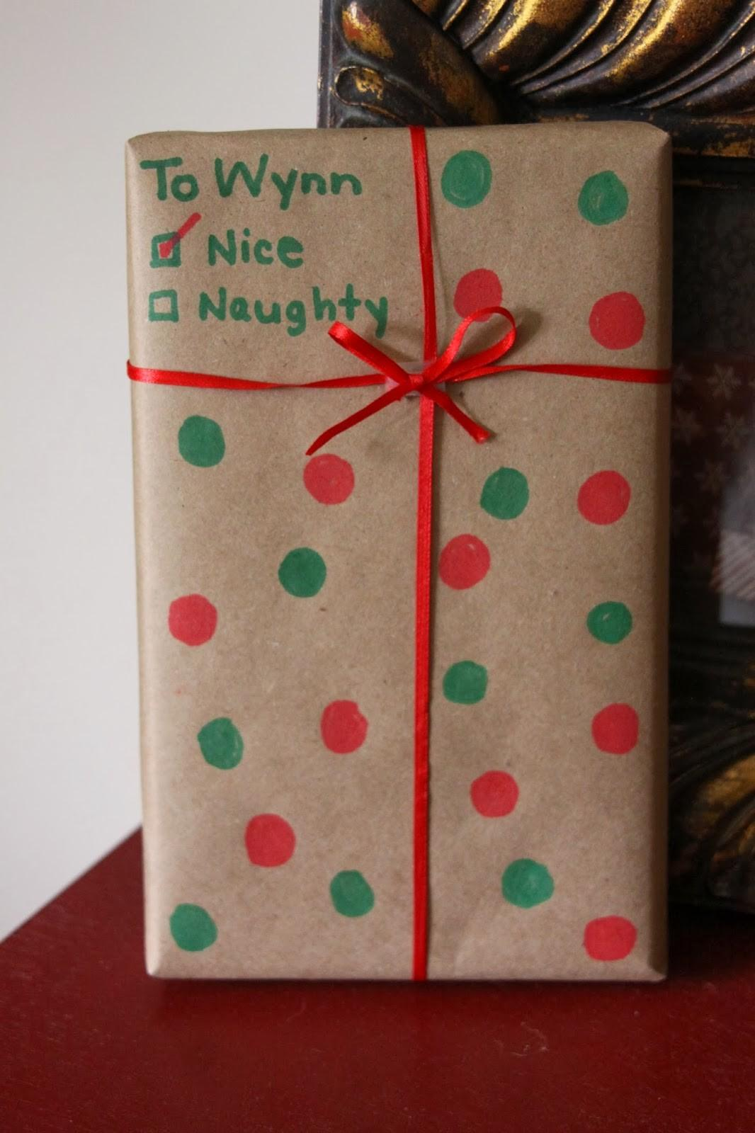 Our Pinteresting Family Diy Holiday Gift Wrap