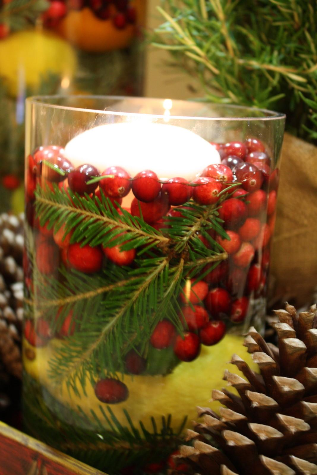 Our Southern Nest Easy Holiday Centerpiece