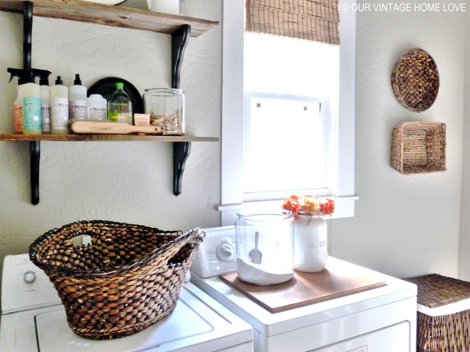 Our Vintage Home Love Laundry Room Ideas