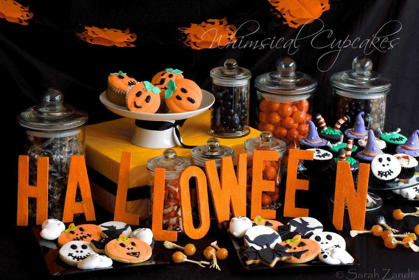 Our Whimsical Halloween Dessert Table