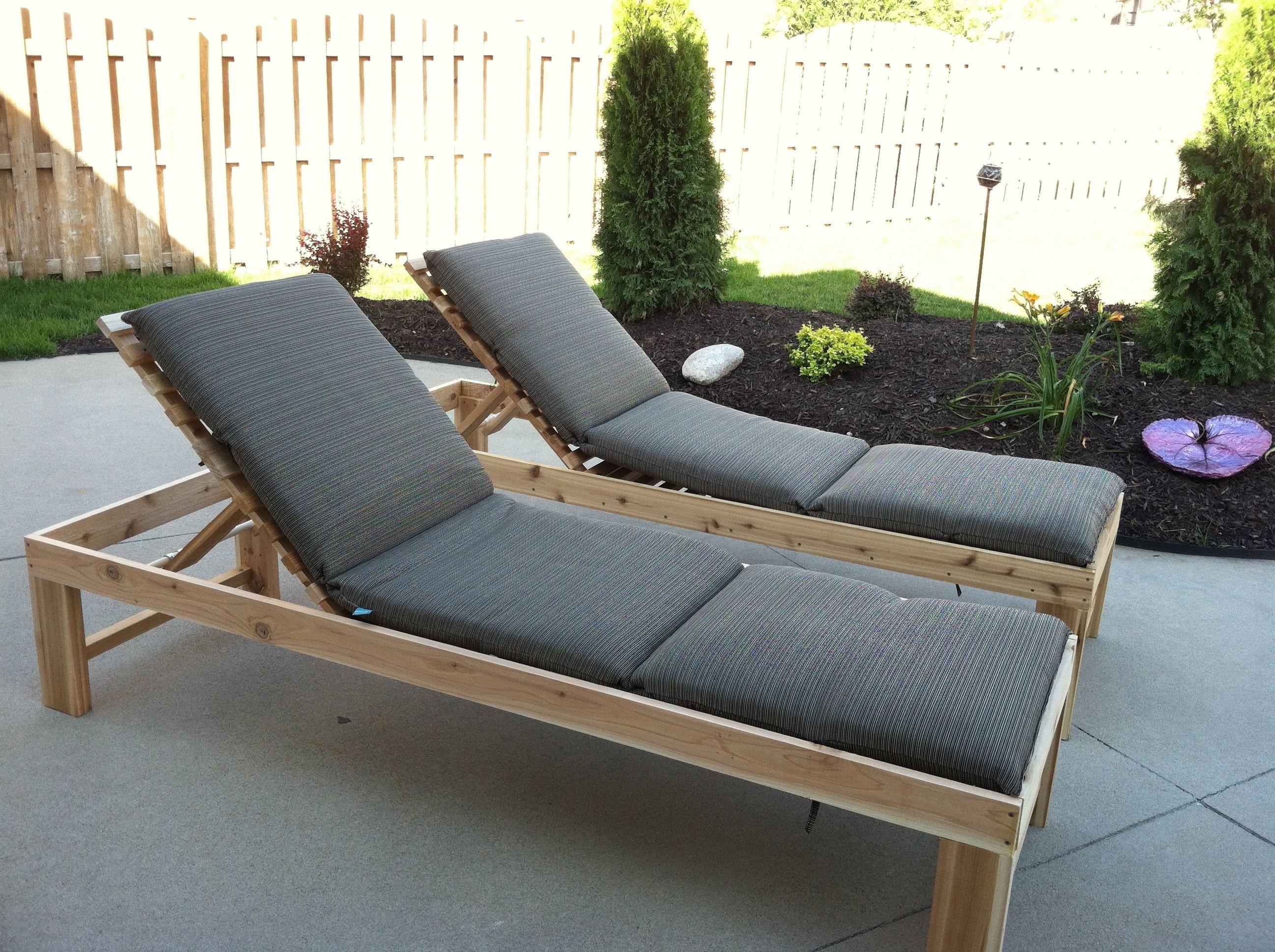 Outdoor Chic Chaise Lounge Furniture