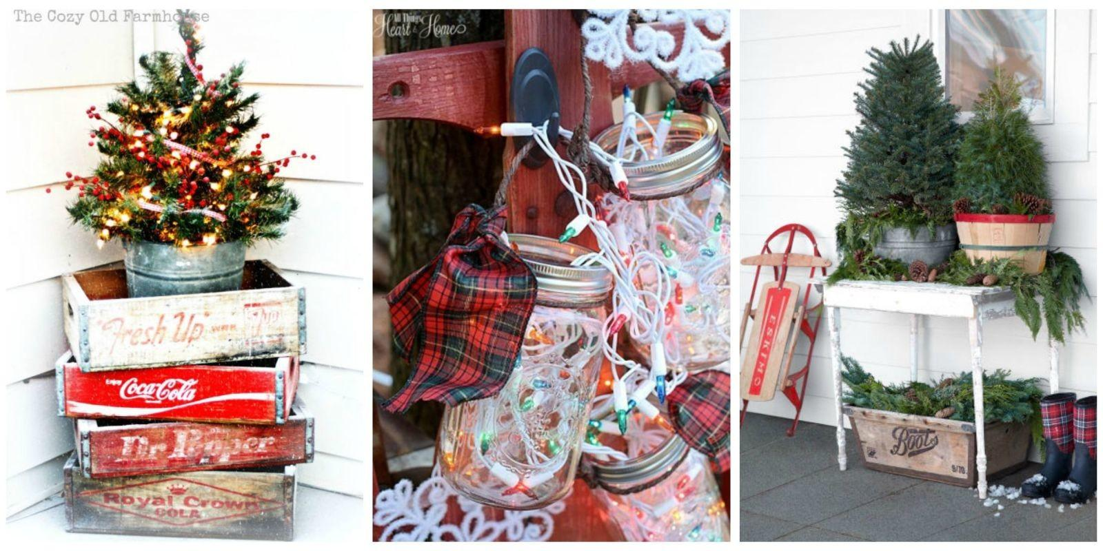 Outdoor Christmas Decorations Ideas Outside