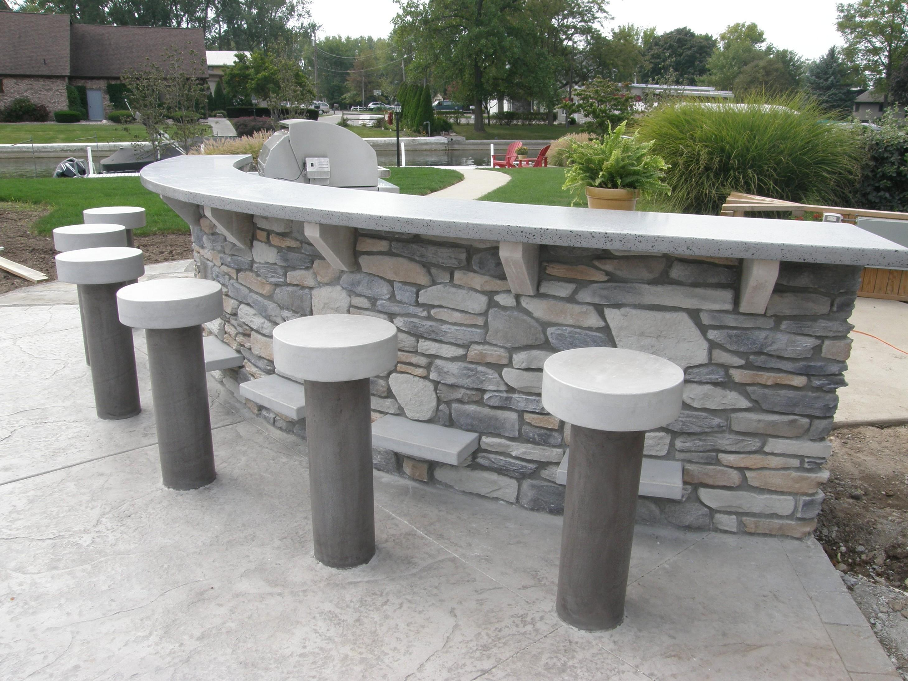 Outdoor Concrete Decorations