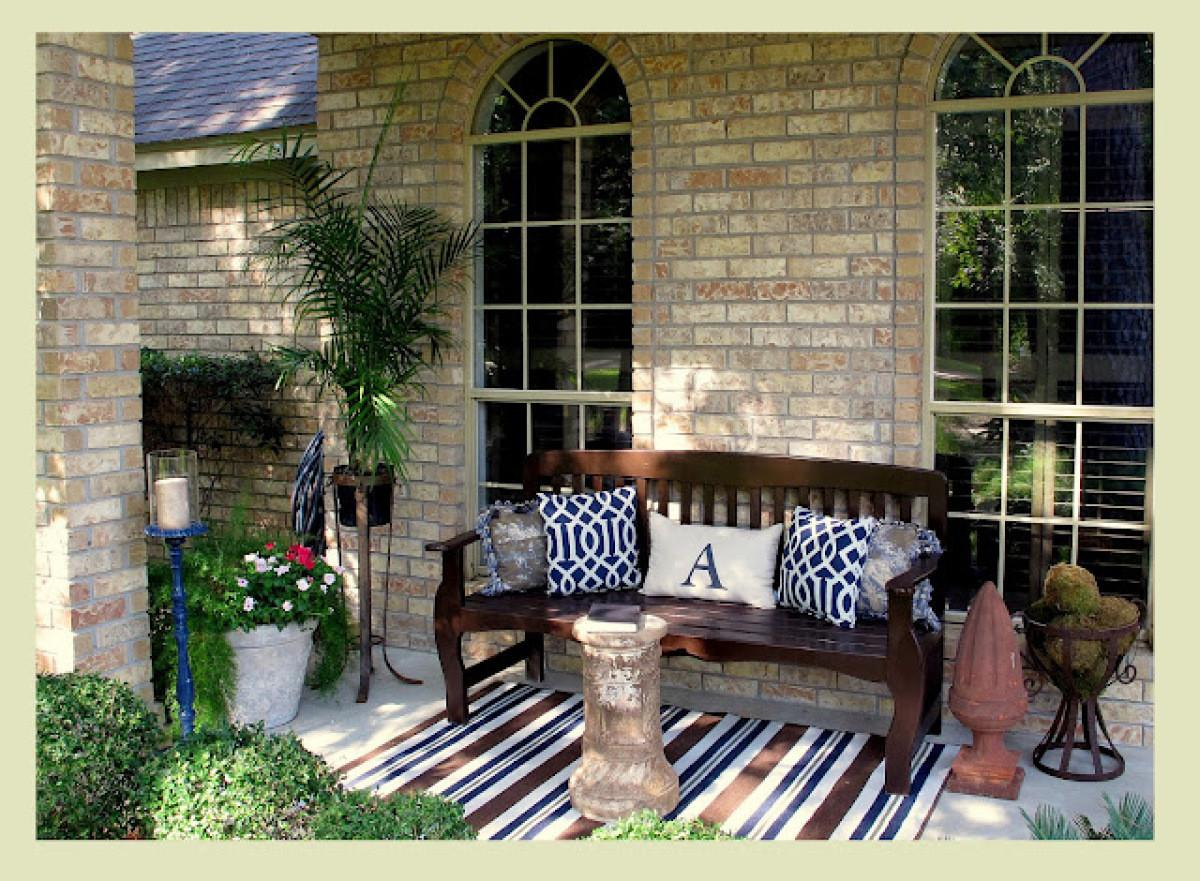 Outdoor Decor Casual Comfy Front Porch Ideas Huffpost