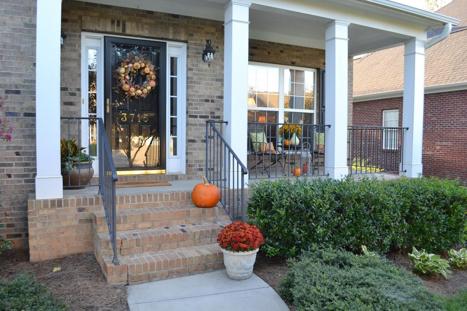Outdoor Decor Fall Dream House Experience