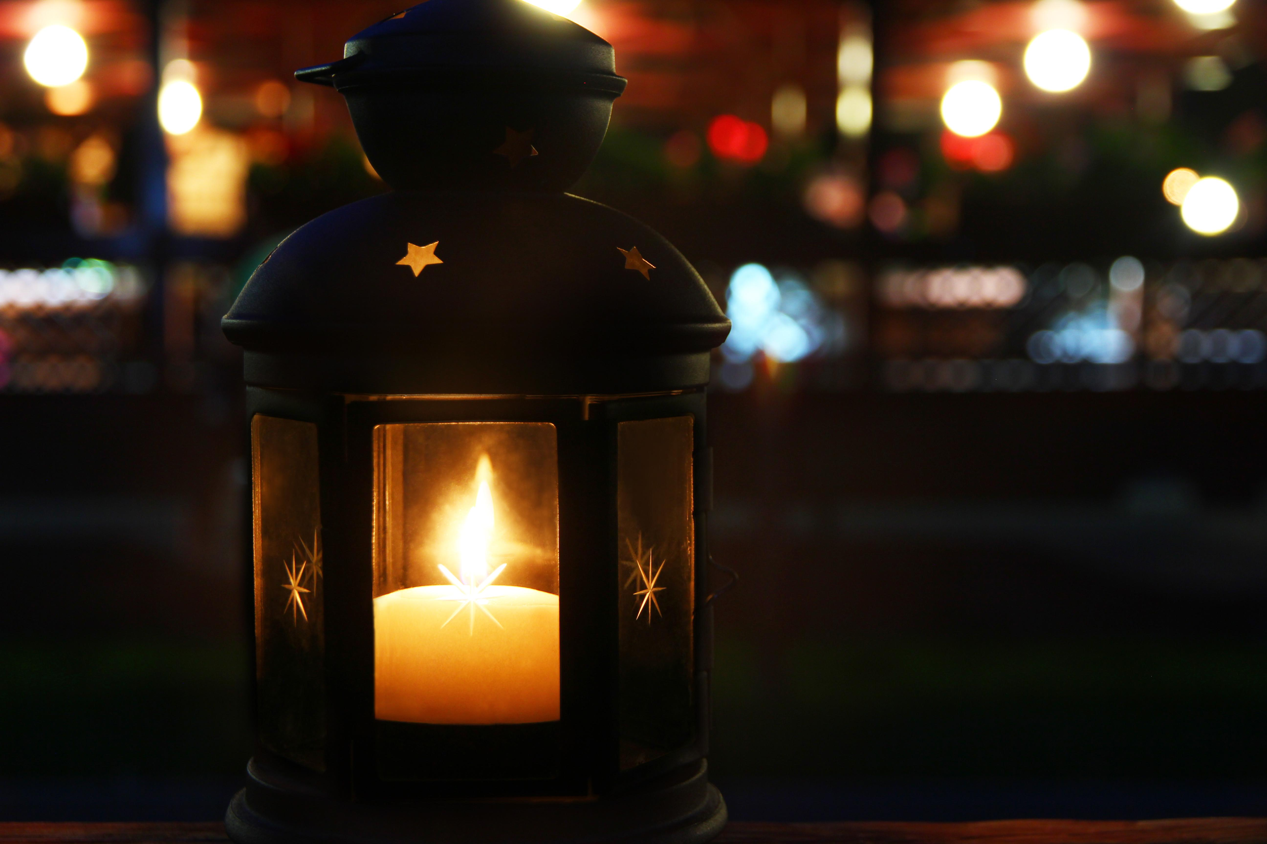 Outdoor Decorative Candle Lanterns Steps