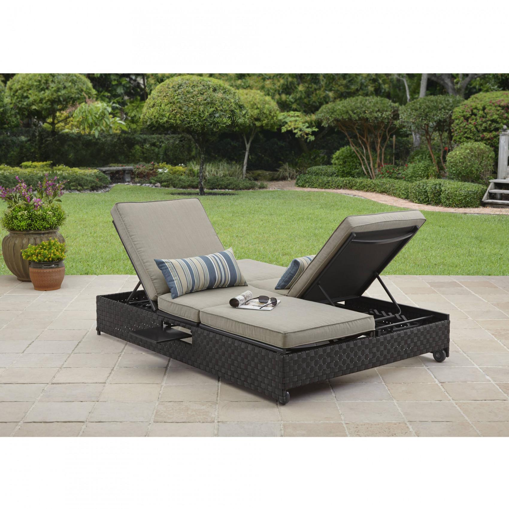 Outdoor Double Lounge Furniture