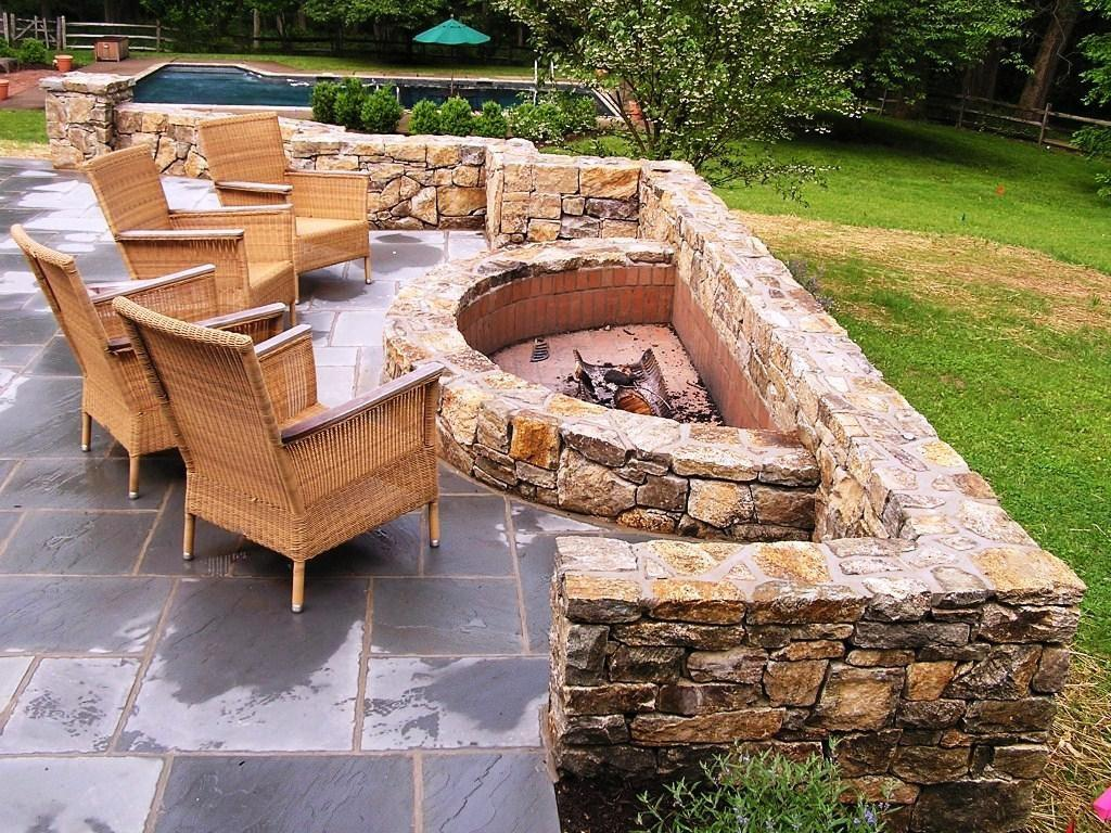 Outdoor Fire Pit Ideas Give Alluring Open Air