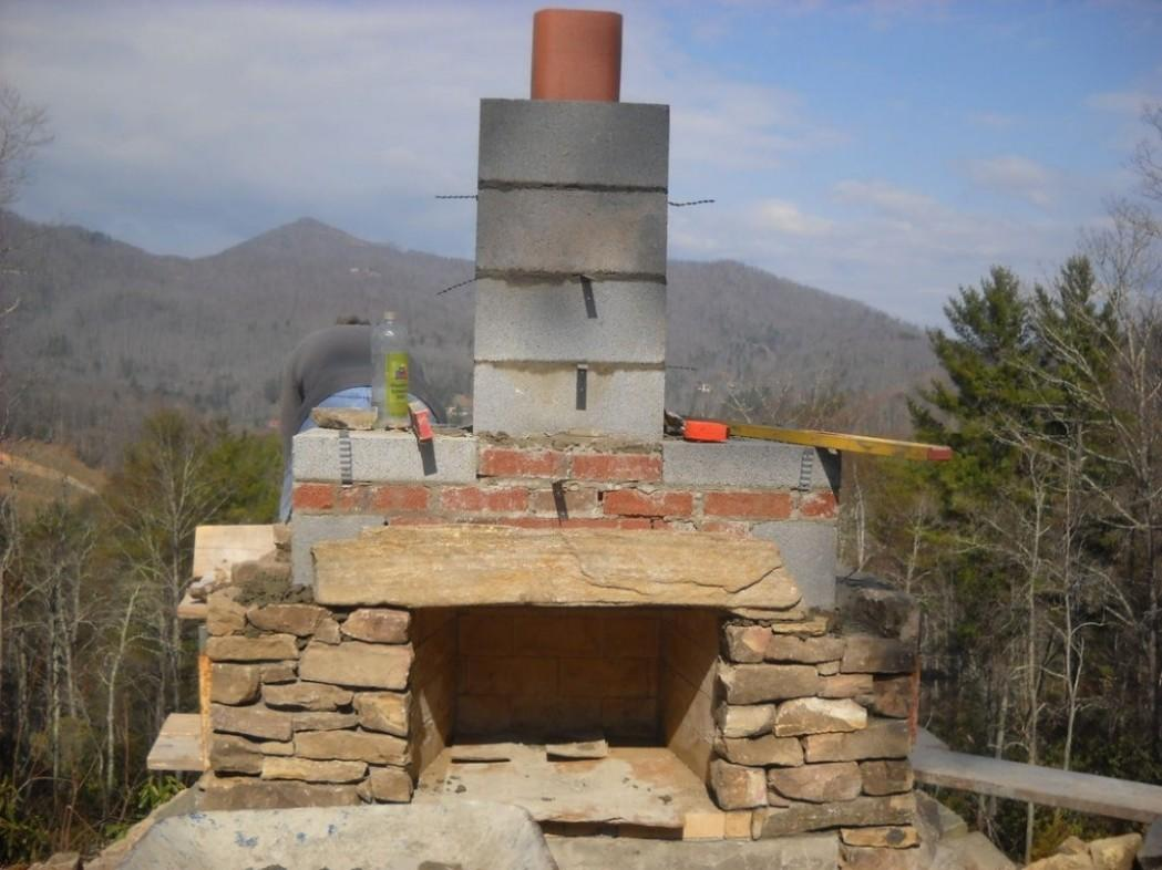 Outdoor Fireplace Wall Unique Designs