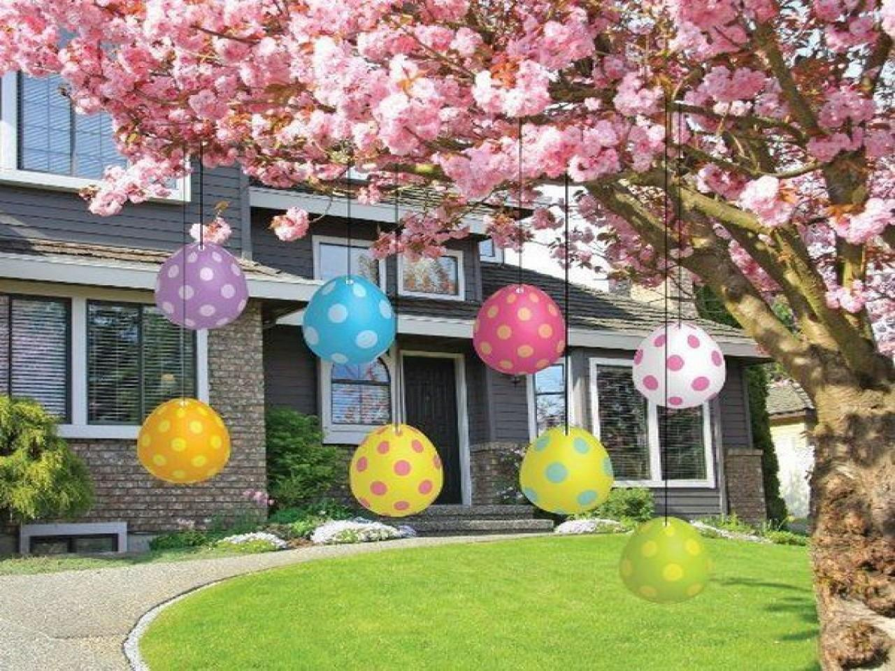 Outdoor Garden Decoration Easter Porch Decorations