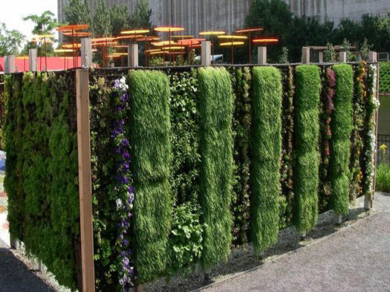 Outdoor Garden Wall Decor Diy Living Planter