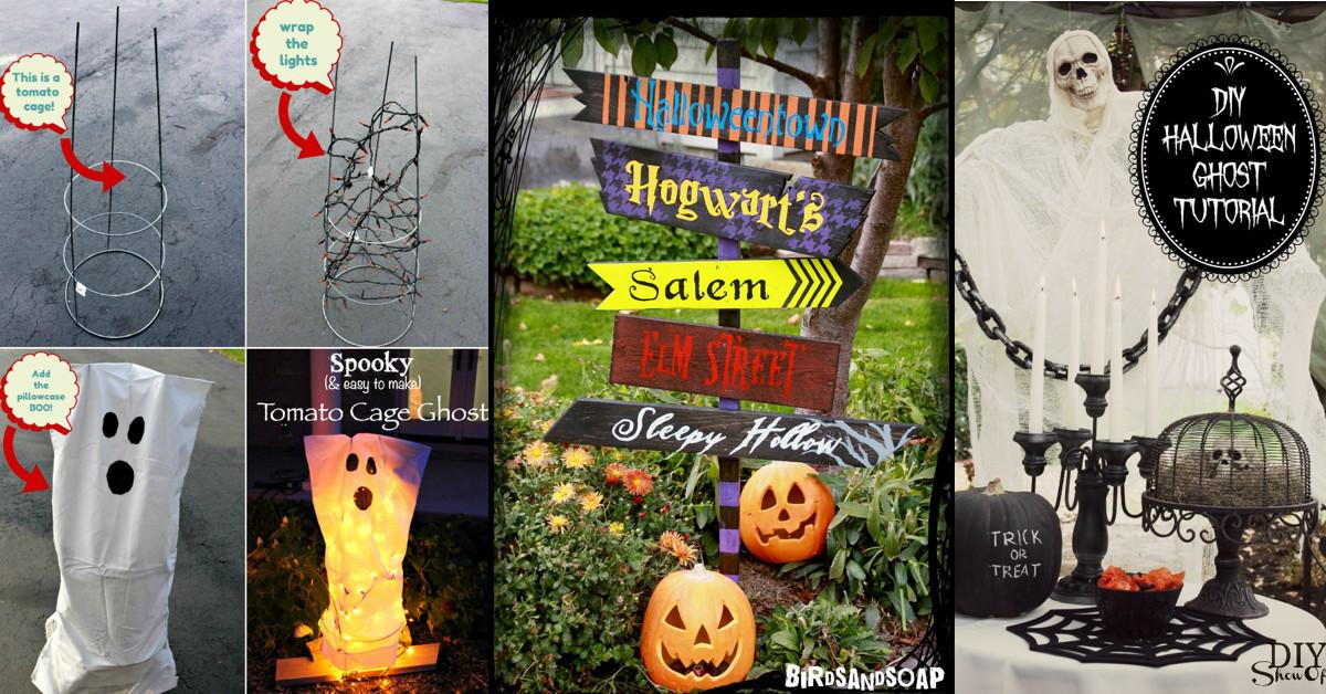 Outdoor Halloween Decorations Diy Easy