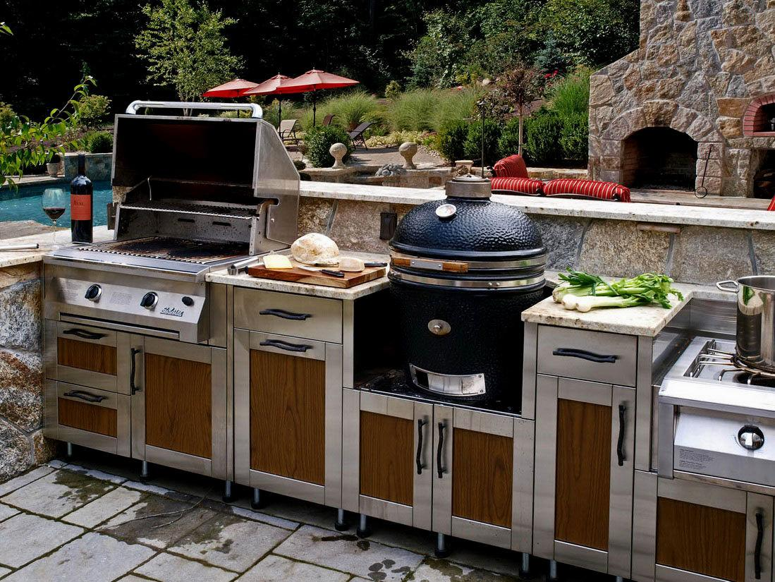 Outdoor Kitchen Decor Design Ideas