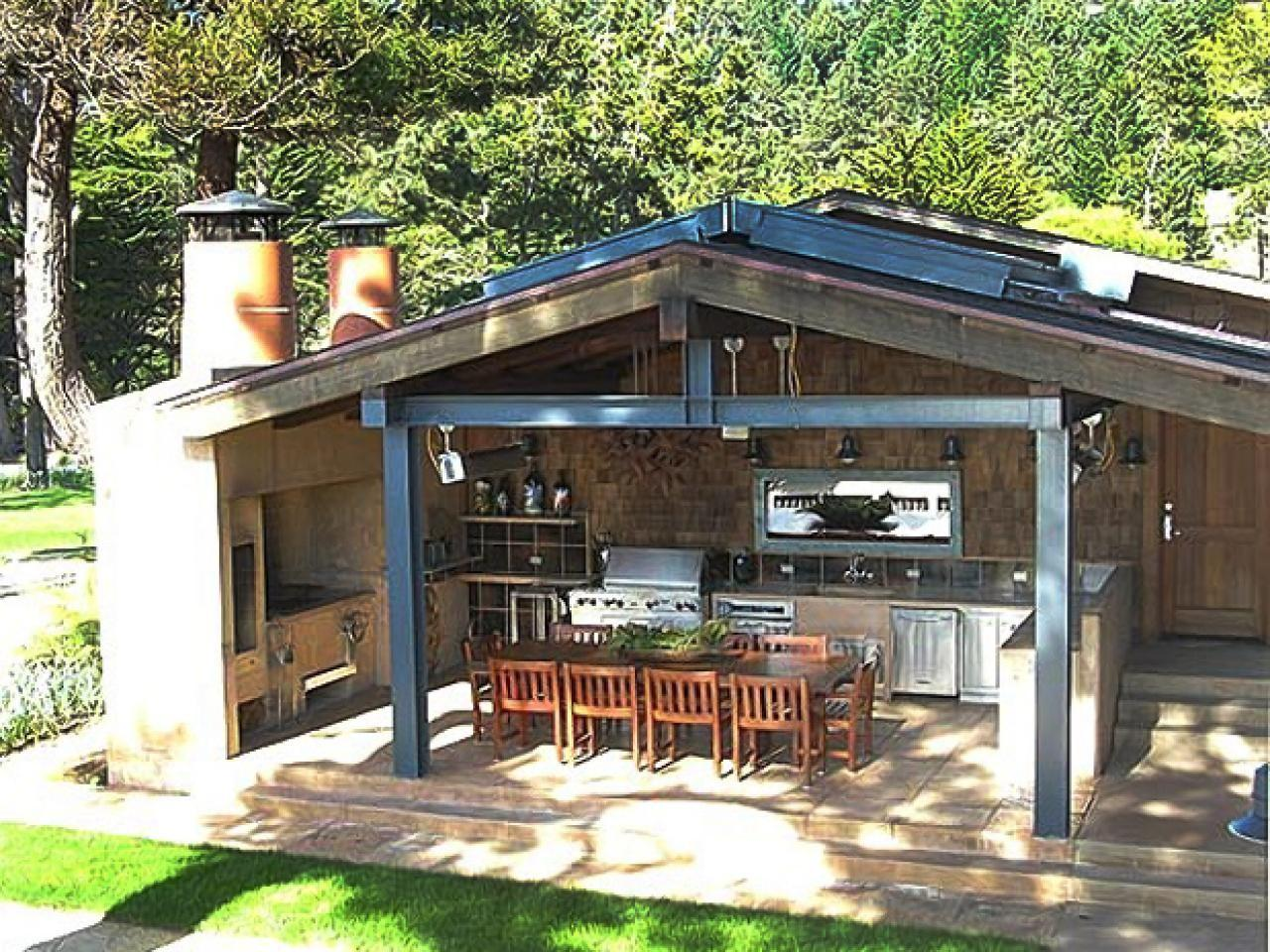 Outdoor Kitchen Diy Design Ideas Cabinets