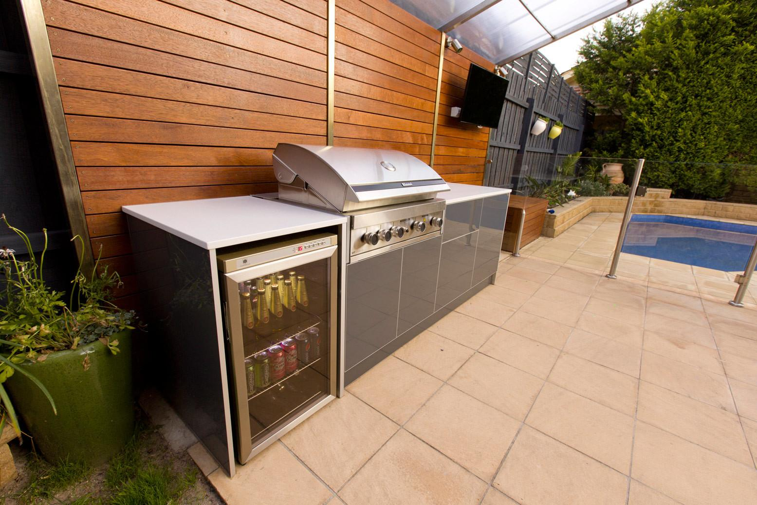 Outdoor Kitchens Bbq Built