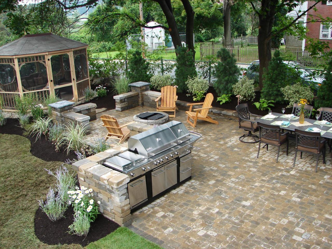 Outdoor Kitchens Grilling Stations Spaces