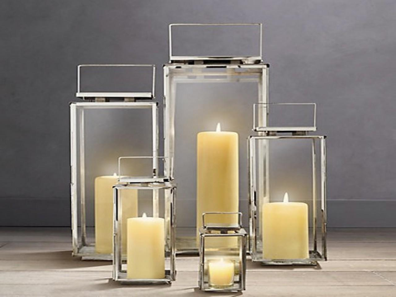 Outdoor Lantern Candles Modern Candle