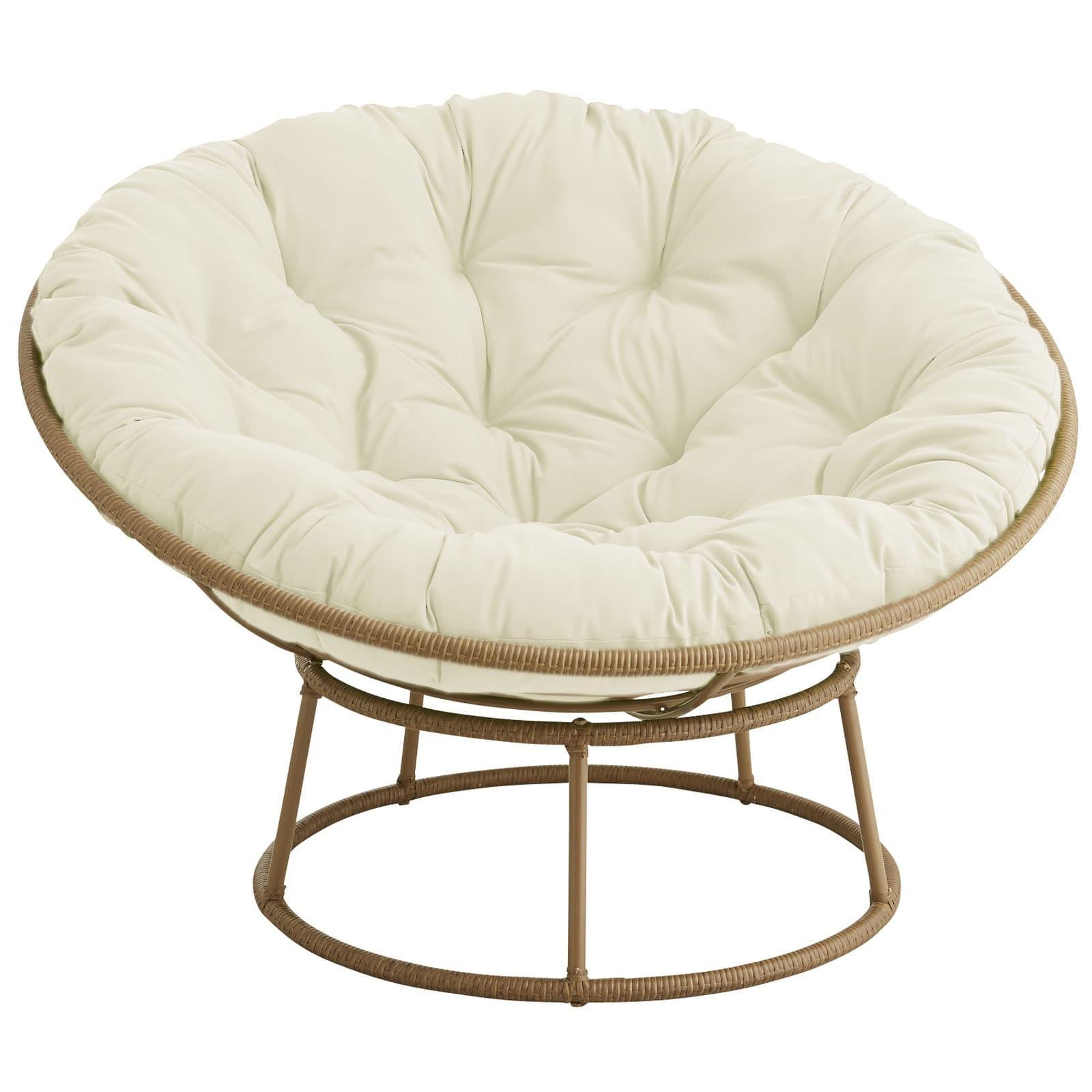 Outdoor Light Brown Papasan Chair Frame Pier Imports