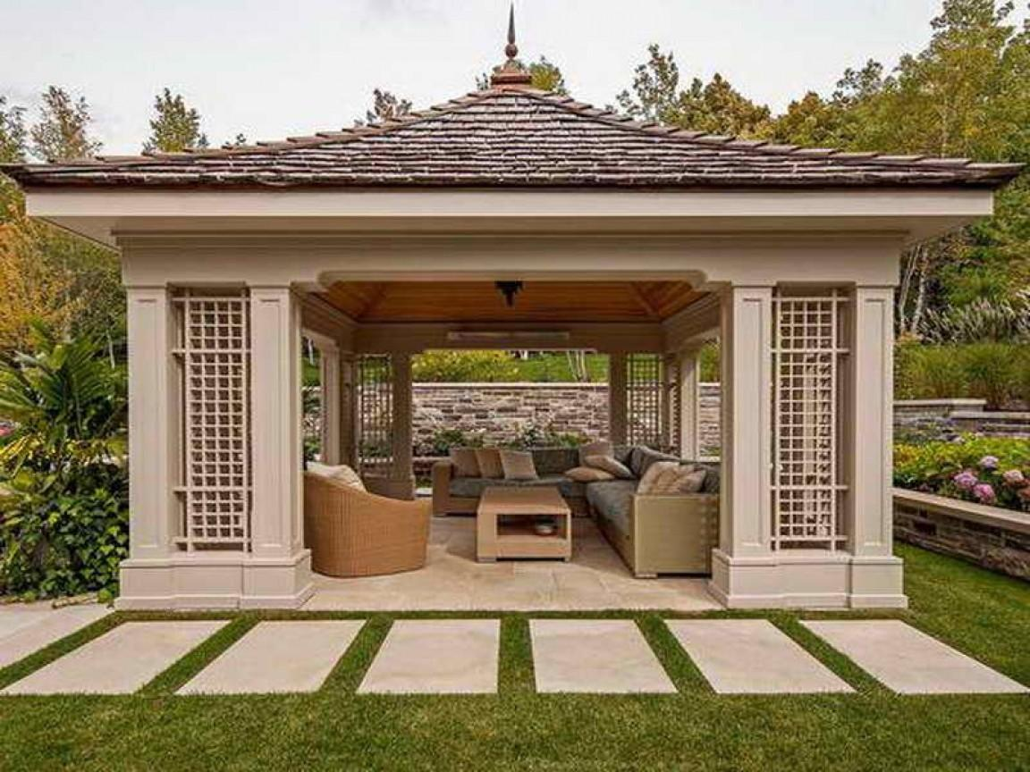 Outdoor Living Ideas Garden Gazebo