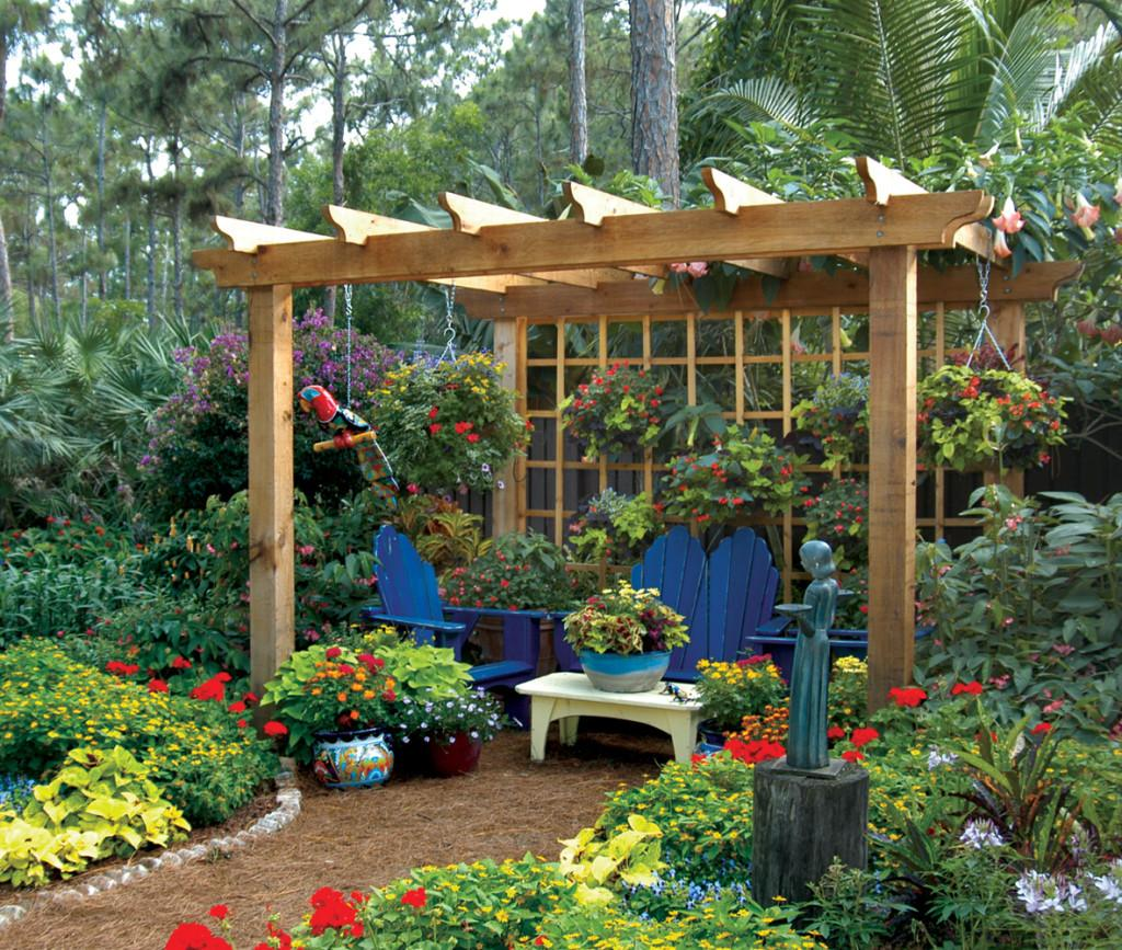 Outdoor Living Structures Palm Beach Landscape