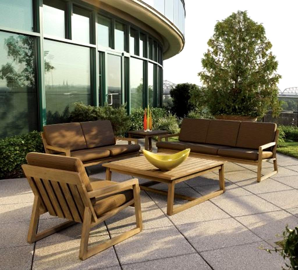 Outdoor Living Teak Furniture Design Vancouver End