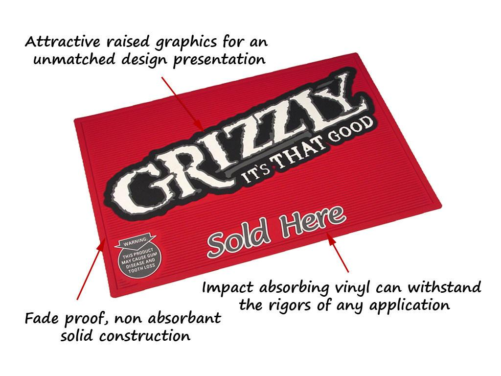 Outdoor Logo Mats Custom Molded Vinyl Shipping