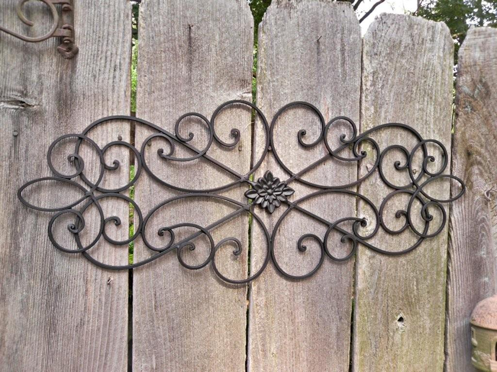 Outdoor Metal Wall Decor Drilling Holes