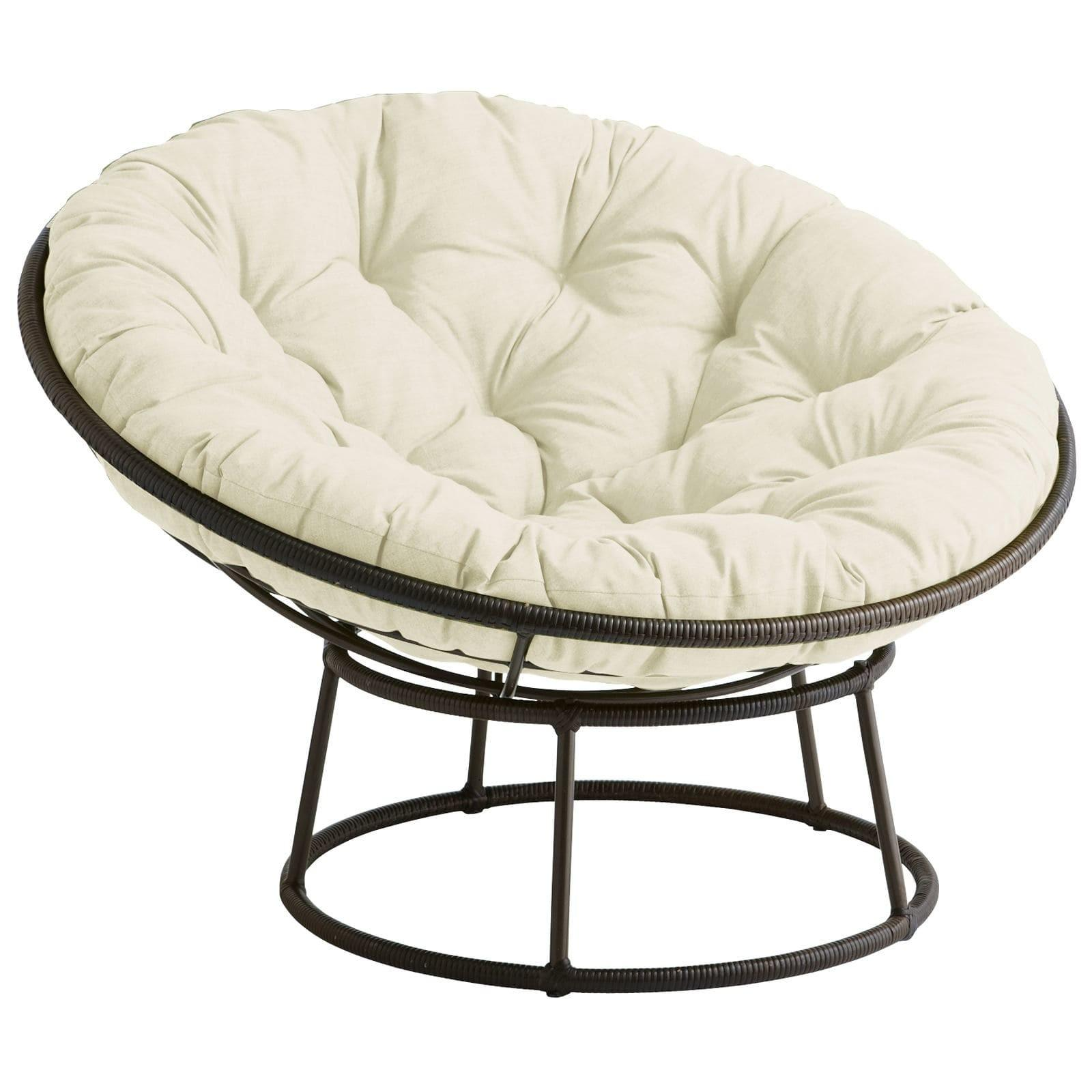 Outdoor Mocha Papasan Chair Bowl Pier Imports