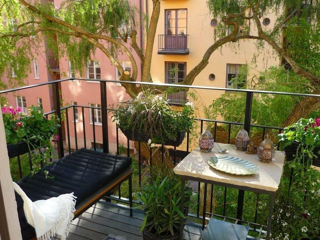 Outdoor Modern Balcony Design Ideas